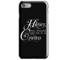 The King Of England iPhone Case/Skin