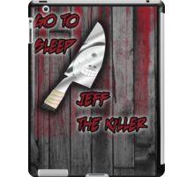 Jeff The Killer-Go to Sleep iPad Case/Skin