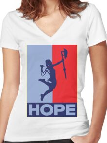 Buffy is Hope! Women's Fitted V-Neck T-Shirt