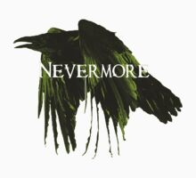 Nevermore Raven One Piece - Short Sleeve