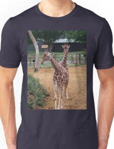 The two headed giraffe Unisex T-Shirt