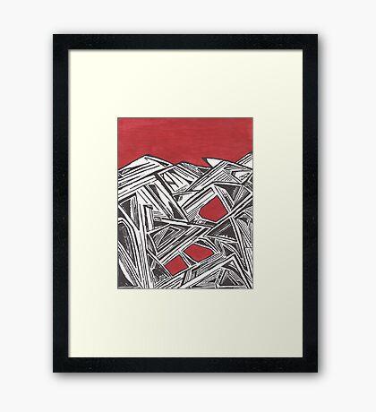 Mind Noises Framed Print
