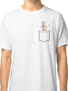 rick and morty pocket v2 Classic T-Shirt