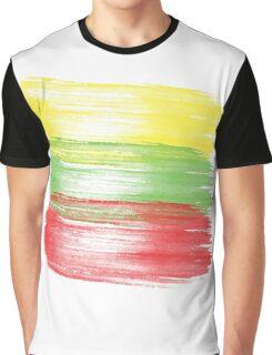 lithuania flag lithuanian Graphic T-Shirt