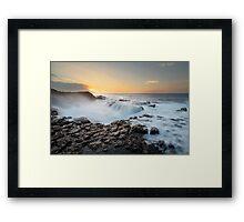 High Surf - Kauai Framed Print