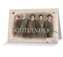 Outlander cast stamp Greeting Card
