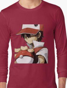 PKMN TRAINER RED Long Sleeve T-Shirt