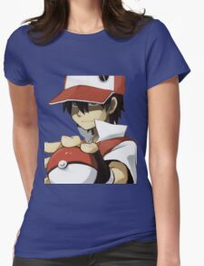 PKMN TRAINER RED Womens Fitted T-Shirt