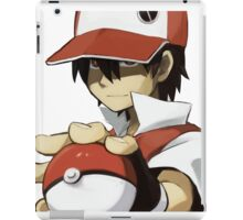 PKMN TRAINER RED iPad Case/Skin