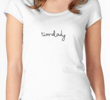 timelady  Women's Fitted Scoop T-Shirt