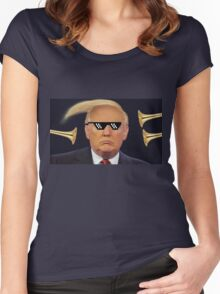 Donald has TRUMPS Women's Fitted Scoop T-Shirt
