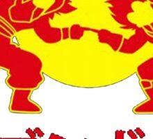 Adventures of Goku and Krillin Sticker