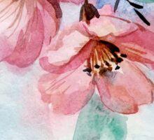 Watercolor Flowers Sticker