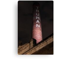 Truman Chimney in Brick Lane Canvas Print