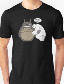 Baymax Hairy Baby Totoro T-Shirt