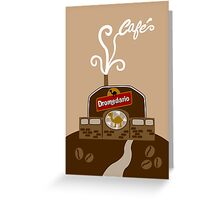 Coffee Factory Greeting Card
