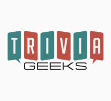 Trivia Geeks SWAG - Light Colors Kids Tee