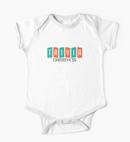 Trivia Geeks SWAG - Light Colors One Piece - Short Sleeve