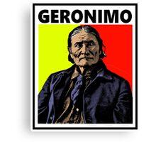 GERONIMO-4 Canvas Print