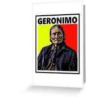 GERONIMO-4 Greeting Card