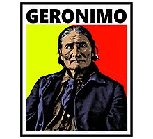 GERONIMO-4 Photographic Print