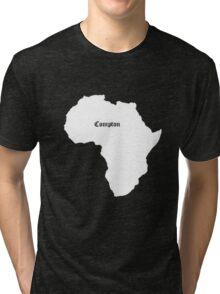 COMPTON AFRICA KENDRICK LAMAR GRAMMY Tri-blend T-Shirt