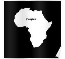 COMPTON AFRICA KENDRICK LAMAR GRAMMY Poster