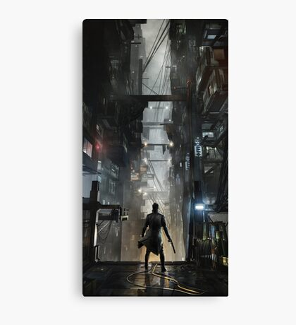 Deus Ex: Mankind Divided Canvas Print