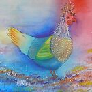 Colourful Chicken by FrancesArt