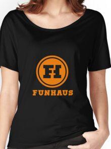 Funhaus Logo Women's Relaxed Fit T-Shirt