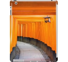 kyoto torii iPad Case/Skin