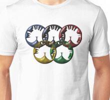 Rio de Janeiro skyline looks like rings Unisex T-Shirt