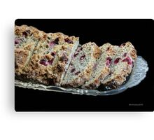 Heather's Berry Good Bread! Canvas Print