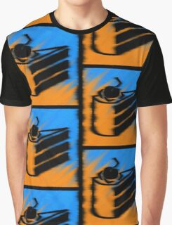 Orange and Blueberry Cake Graphic T-Shirt