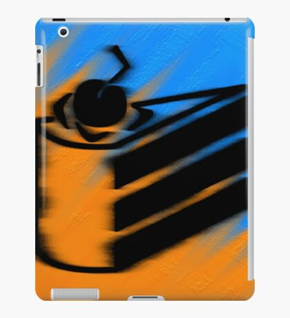 Orange and Blueberry Cake iPad Case/Skin