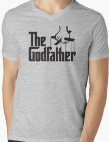 The Godfather Mens V-Neck T-Shirt