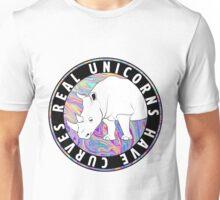 Real Unicorns Have Curves Unisex T-Shirt