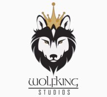 Wolfking Studios SWAG - on Light Kids Tee