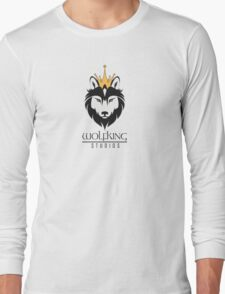 Wolfking Studios SWAG - on Light Long Sleeve T-Shirt