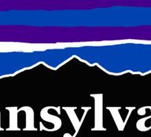 Pennsylvania Midnight Mountains Sticker