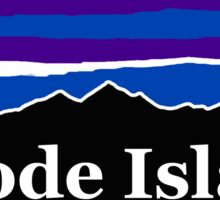 Rhode Island Midnight Mountains Sticker