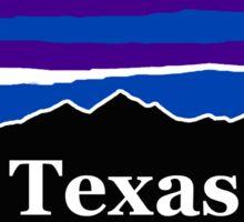Texas Midnight Mountains Sticker