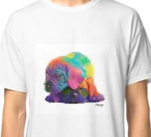 Colorful Puppies Classic T-Shirt