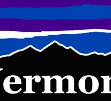 Vermont Midnight Mountains Sticker
