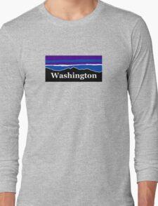 Washington Midnight Mountains Long Sleeve T-Shirt