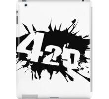 420 weed iPad Case/Skin