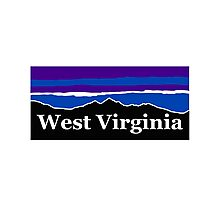 West Virginia Midnight Mountains Photographic Print