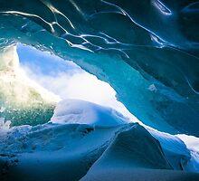 blue ice cave by milena boeva