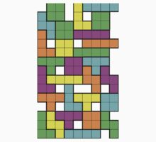 Tetris One Piece - Short Sleeve