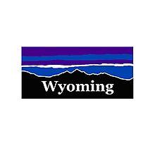 Wyoming Midnight Mountains Photographic Print